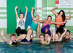 Aqua Zumba Party в «Фитнес-центре 100%»