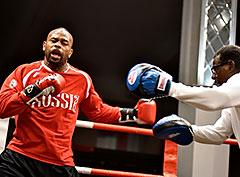 Итоги открытой тренировки в преддверии боксерского шоу «Рой Джонс vs Энцо Маккаринелли»