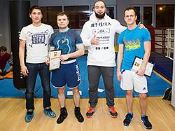 В сети фитнес-клубов Pride Club состоялся предновогодний турнир по боксу
