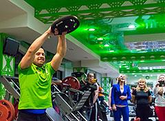 Проект «Меняйся» в фитнес-клубе Paris Life Чертаново