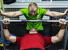 «Русский жим» в фитнес-клубе Paris Life Пражская