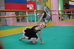 Отчетный концерт по художественной гимнастике в «ДОН-Спорт Атлант»