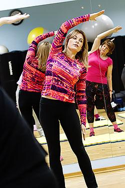 Семинар «Похудей красиво!» прошел в фитнес-клубе «ДОН-Спорт Атмосфера»