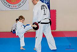 Открытый урок в детской школе «Таэквон-До ITF» в «Премьер-Спорт»