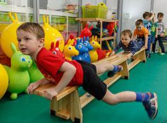 День открытых дверей для детей в фитнес-клубе N-ERGO в Опалихе