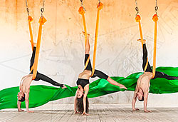 Бесплатный открытый урок - Антигравити йога в фитнес-клубе «Атланта»!