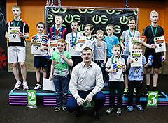 Детские соревнования по единоборствам в клубе «WeGym Ферганская»