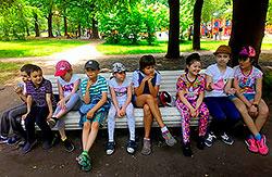 Детский городской лагерь WellnessKidsCamp в фитнес-клубе Wellness Park!