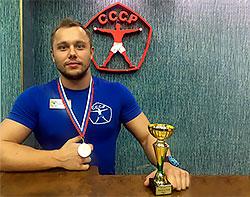 Алексей Климов на Чемпионате России по атлетическому фитнесу WFF-WBBF