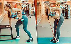 Тренер «Фитнес-центра 100%» показала Cosmopolitan несколько упражнений