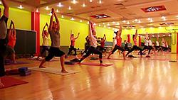 Мастер-класс по йоге от Ольги Кузьминой в «Фитнес-центре 100%»!