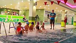 Мастер-класс от Ивана Артемьева «Игры для детей в воде» в «Фитнес-центре 100%»