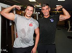Открываем новый тренировочный сезон в фитнес-клубе «Марк Аврелий Измайлово»