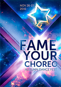 Fame Your Choreo Autumn Dance Fest
