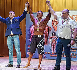 Михаил Дьяконов — чемпион в пляжном бодибилдинге Чемпионата Курской области 2016 года по версии IFBB