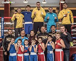 Бокс. Легендарная команда «Астана Арланс» провела открытую тренировку в «Академии бокса»
