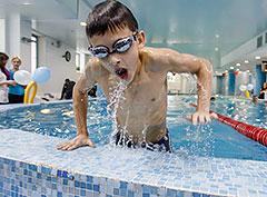 Соревнования по плаванию в клубе «N-ERGO Можайское шоссе»