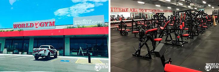 В сеть World Gym войдет более 30 новых клубов