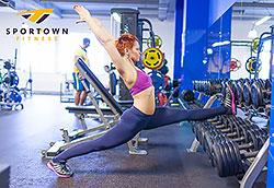 Тающие скидки весны на фитнес в клубе Sportown!