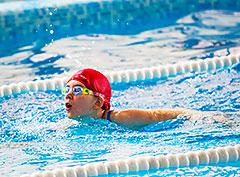 В «Pride Club Видное» состоялись весенние соревнования по плаванию