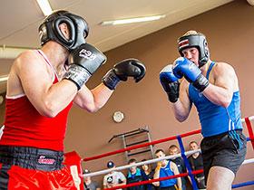 Соревнования по боксу в Citrus Fitness Club