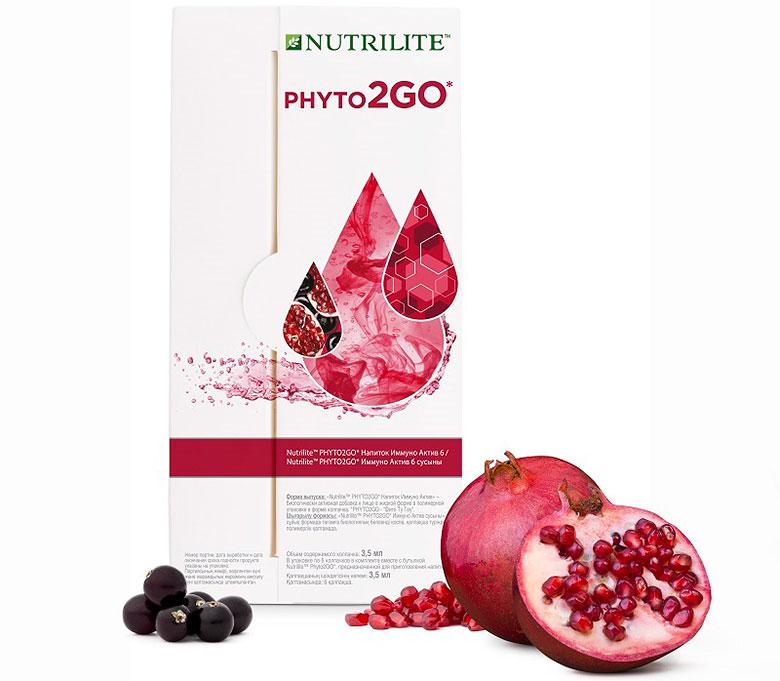 освежающий напиток для иммунитета Phyto2GO