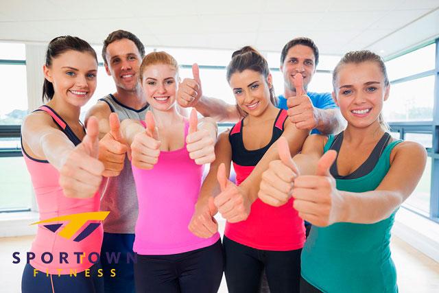 Собери свою карту в фитнес-клубе Sportown!