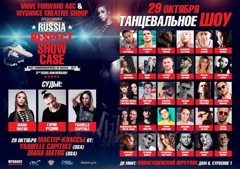 Russia Respect Showcase — 2017