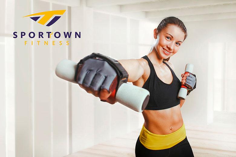 Занимайтесь фитнесом в 2017 году бесплатно в клубе Sportown!