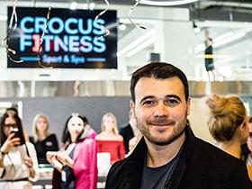 Состоялось торжественное открытие «Crocus Fitness Первый»