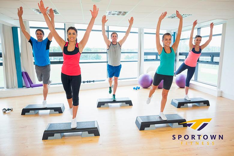 Фитнес до нового года в подарок в клубе Sportown!
