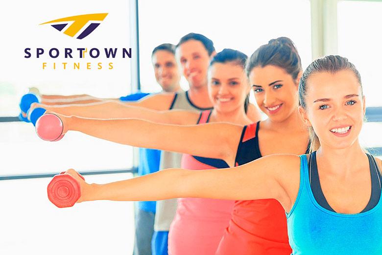 - 45% на дневные карты в фитнес-клубе Sportown!