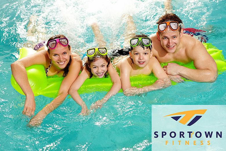 Фитнес с семьей еще выгодней в клубе Sportown!