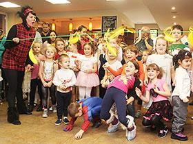 Ёлка для детей в фитнес-клубе «Геркулес»