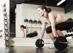 Свободные веса для женщин