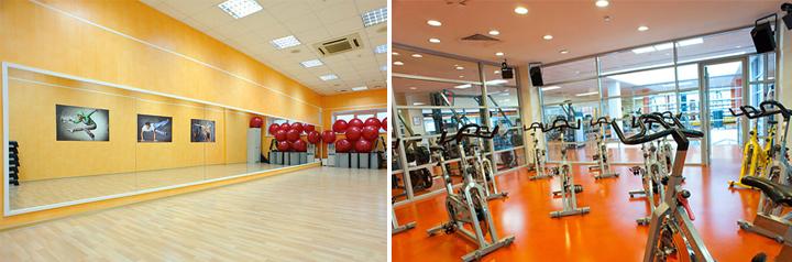 строительство фитнес-клуба