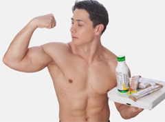 14 продуктов для набора мышечной массы