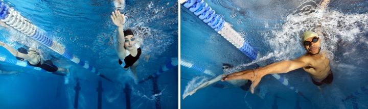 плавание - самая настоящая силовая работа!