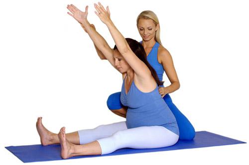 Упражнения для беременных помогают подготовиться к родам