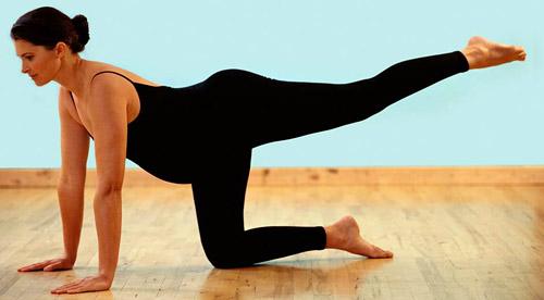 Упражнения для беременных дарят бодрость и прилив новых сил