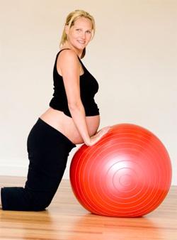 Фитбол для беременных поможет подготовиться к родам и сохранить отличную форму