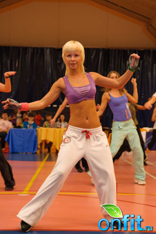 Fitness Party 2009 в фитнес-клубе Janinn Fitness