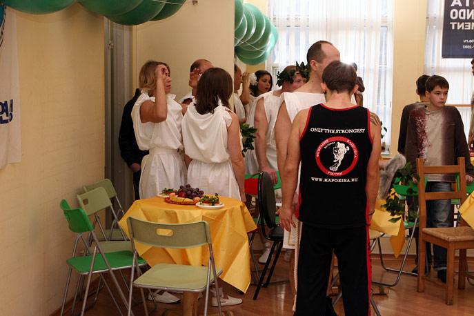 Новогодний праздник в Banana Gym
