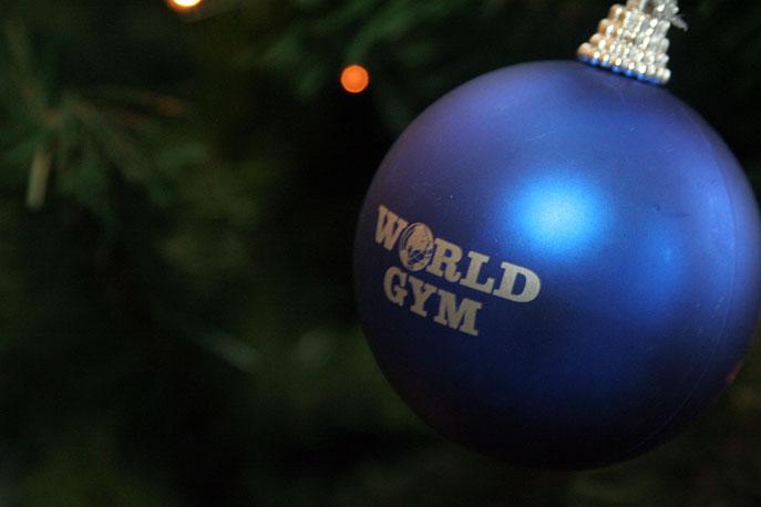Фитнес-Ёлка в клубе World Gym