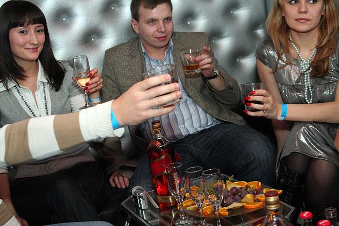 ТерраСпорт - новогодняя вечеринка в клубе 13