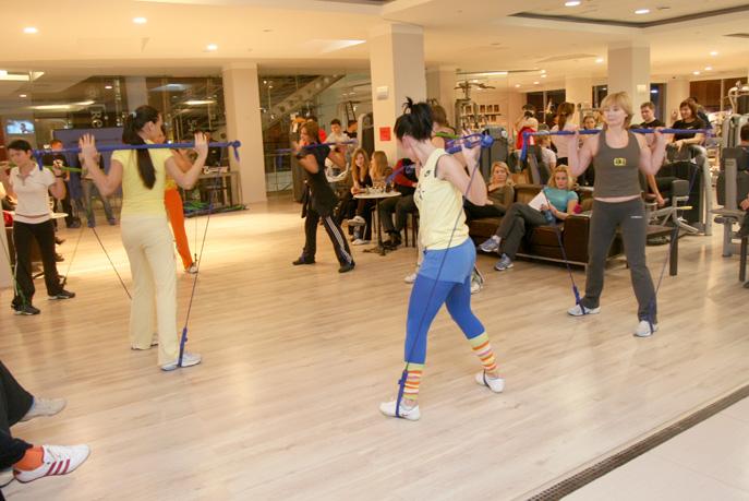Фитнес-вечеринка в клубе Republika на Калужской