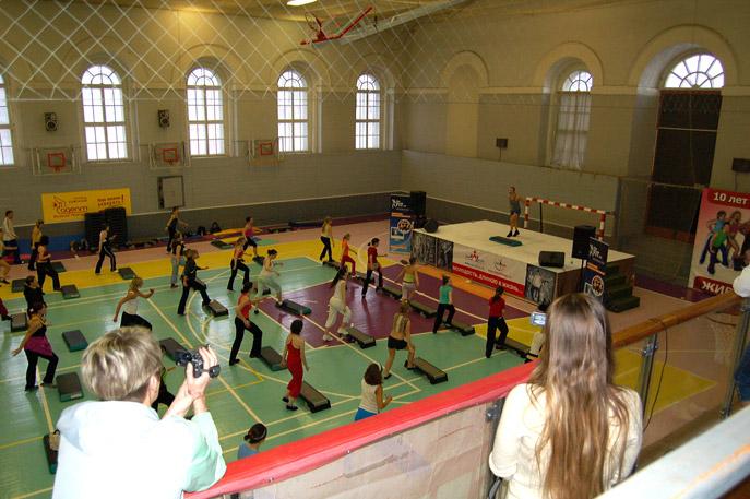 VIII Международная конвенция по аэробике в Великом Новгороде