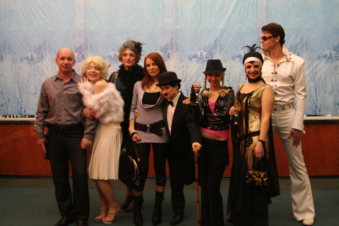 Вечеринка со звездами в клубе «Витаспорт»