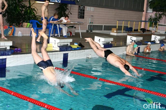 Планета Фитнес. Соревнования Aqua Gym