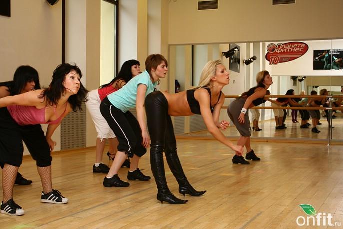 Планета Фитнес. Мастер-классы Strip Dance